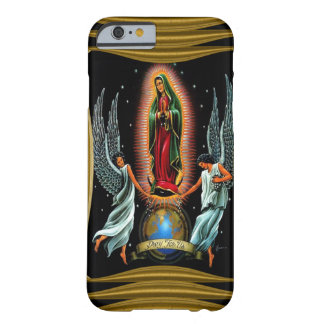 Virgen De Guadalupe (avec des anges) Coque Barely There iPhone 6
