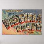 Virginia Beach, la Virginie - grandes scènes de le Posters