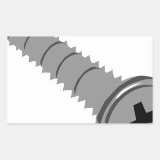 Vis Sticker Rectangulaire