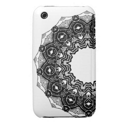 Visage de baleine - cas protecteur de l'iPhone 3 Étui iPhone 3