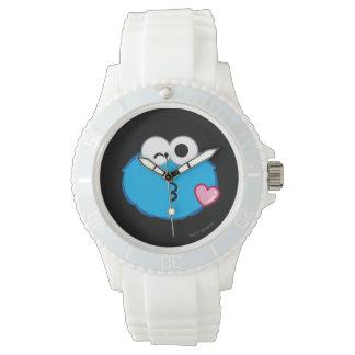 Visage de biscuit jetant un baiser montres bracelet
