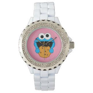 Visage de biscuit montre