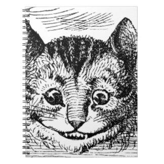 Visage de chat de Cheshire Carnet