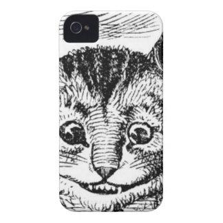 Visage de chat de Cheshire Coque Case-Mate iPhone 4