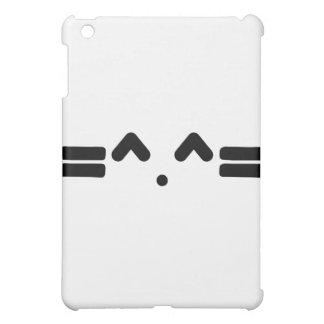 visage de chat, meowww, chaton de minou ! ! coques pour iPad mini