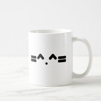 visage de chat, meowww, chaton de minou ! ! mug