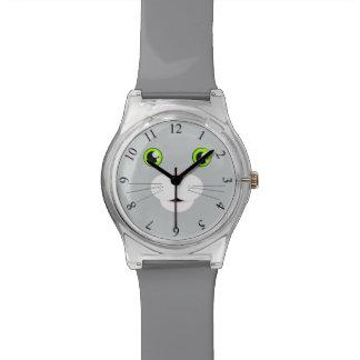Visage de chat montres bracelet