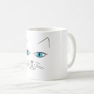 Visage de chat mug