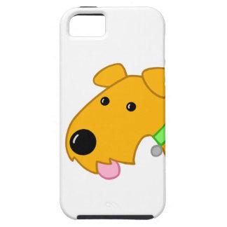 Visage de chiot d'Airedale Terrier Coques Case-Mate iPhone 5