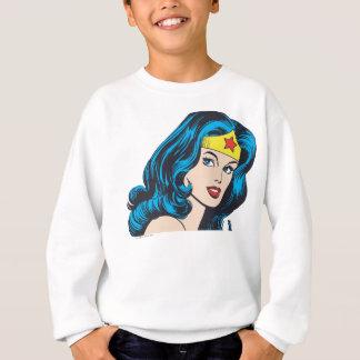 Visage de femme de merveille sweatshirt