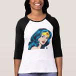 Visage de femme de merveille t-shirt