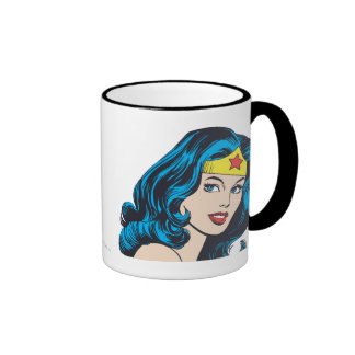 Visage de femme de merveille tasse