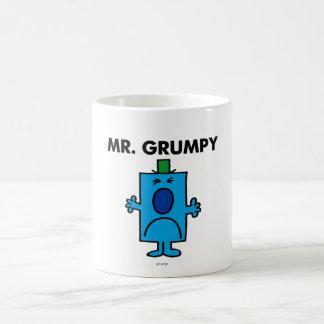 Visage de froncement de sourcils de M. Grumpy | Mug