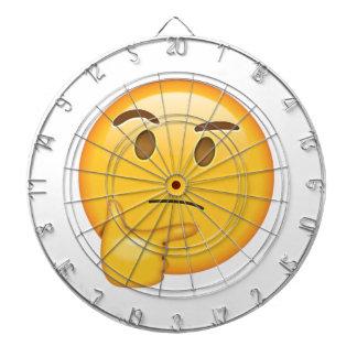 Visage de pensée - Emoji Jeu De Fléchettes