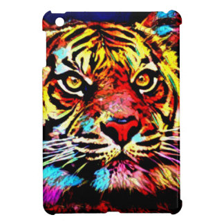 Visage de tigre étuis iPad mini