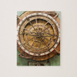 Visage d'horloge antique, Allemagne Puzzle