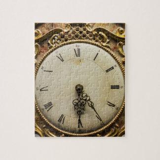 Visage d'horloge du 19ème siècle, Allemagne Puzzle