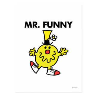Visage drôle de M. Funny | Carte Postale