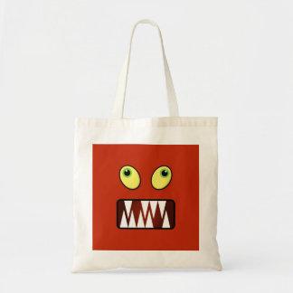 Visage drôle de monstre sacs