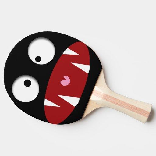 Visage dr le de vampire de monstre de bande dessin - Dessin tennis de table ...