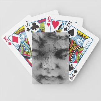 Visage d'un ange jeux de cartes