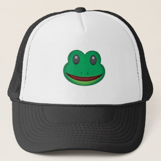 Visage Emoji de grenouille Casquette