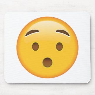 Visage étouffé - Emoji Tapis De Souris