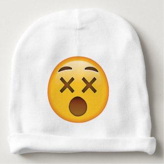 Visage étourdi - Emoji Bonnet De Bébé