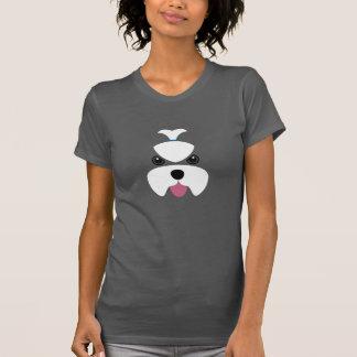 Visage féroce maltais t-shirt