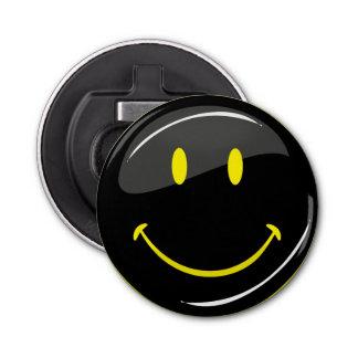 Visage heureux noir au néon de couleur réglable