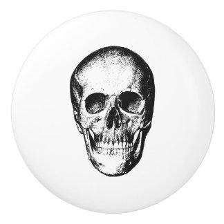 Visage humain vintage de crâne