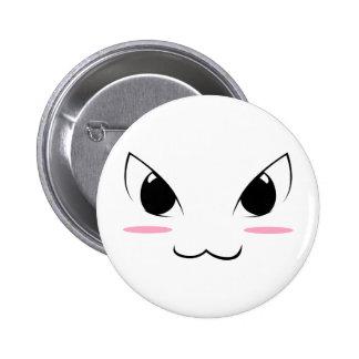 Visage mignon 1 d Anime Badges