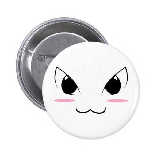 Visage mignon #1 d'Anime Badges