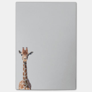Visage mignon de girafe post-it®