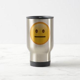 Visage neutre - Emoji Mug De Voyage