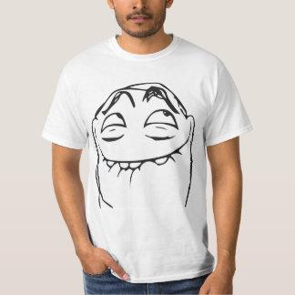 Visage riant Meme comique de rage de PFFTCH T-shirt