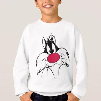 Visage rouge de nez de SYLVESTER™ Sweatshirt