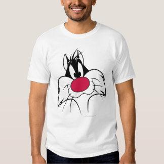 Visage rouge de nez de SYLVESTER™ T-shirt