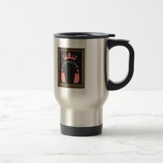 Visage saint de Lucques ! Rose Mug De Voyage