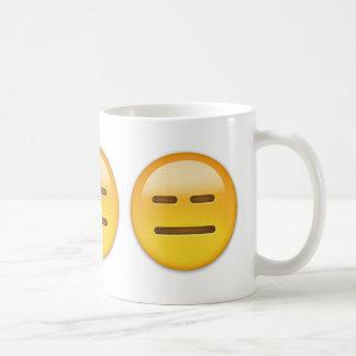 Visage sans expression Emoji Mug