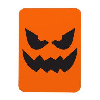 Visage Sihouette3 de citrouille de Halloween Magnet Flexible