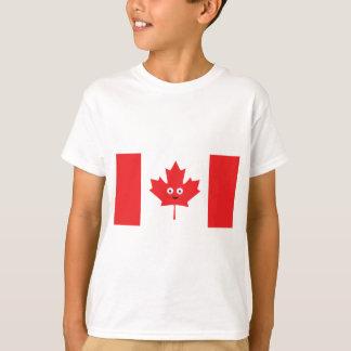 Visage souriant canadien t-shirt