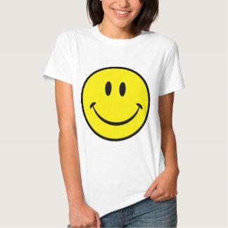 Visage souriant de bonheur t-shirt