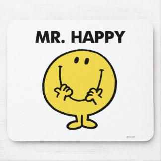Visage souriant géant de M. Happy | Tapis De Souris