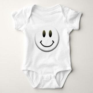 Visage souriant heureux body