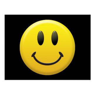 Visage souriant heureux cartes postales