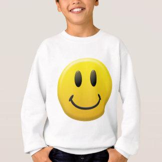 Visage souriant heureux sweatshirt