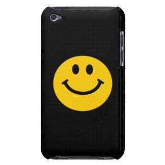 Visage souriant jaune coques iPod touch