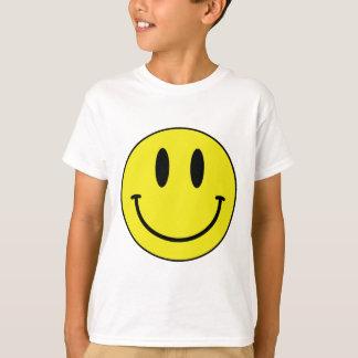 visage souriant t-shirt