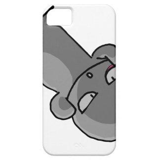 Visage tordu de petit bébé gris coques iPhone 5